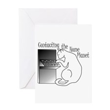 Home Planet Greeting Card