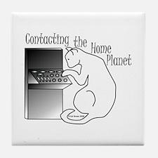Home Planet Tile Coaster