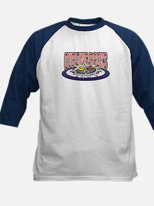 Curling Rocks Kids Baseball Jersey