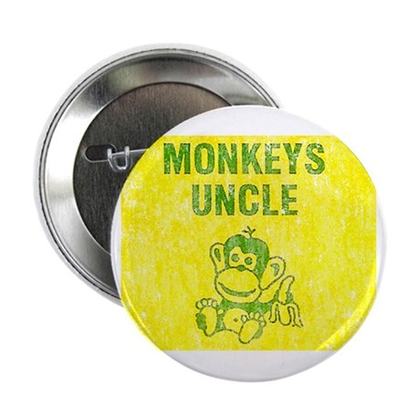 Monkeys Uncle Distressed Look Button