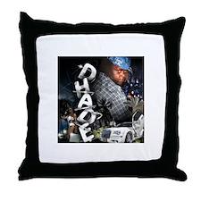 Unique Black night Throw Pillow