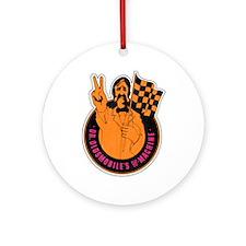 Mr. Oldsmobile Ornament (Round)