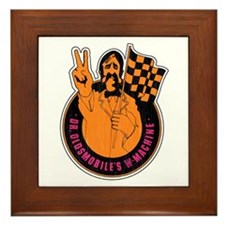Mr. Oldsmobile Framed Tile