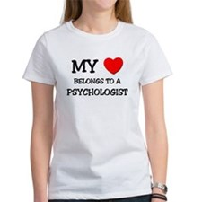 My Heart Belongs To A PSYCHOLOGIST Tee