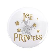 """Ice Princess 3.5"""" Button"""
