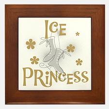Ice Princess Framed Tile