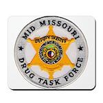 Mid Missouri Drug Task Force Mousepad