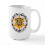 Mid Missouri Drug Task Force Large Mug