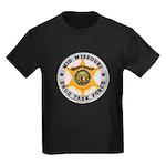 Mid Missouri Drug Task Force Kids Dark T-Shirt