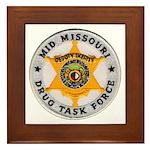 Mid Missouri Drug Task Force Framed Tile