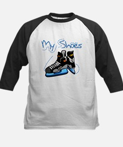 Skates My Shoes Kids Baseball Jersey