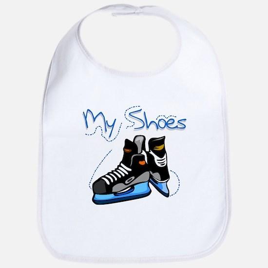 Skates My Shoes Bib