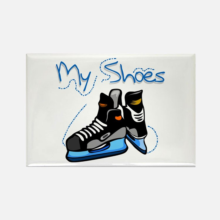 Skates My Shoes Rectangle Magnet