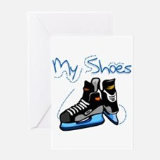 Skates My Shoes Greeting Card
