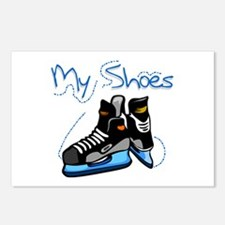 Skates My Shoes Postcards (Package of 8)
