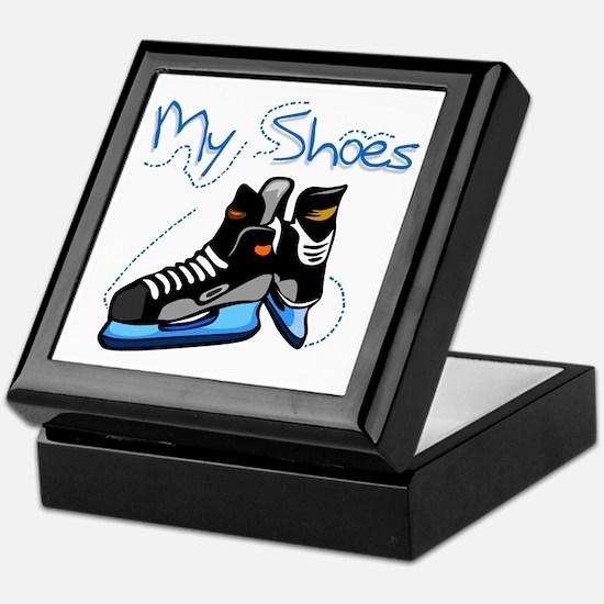 Skates My Shoes Keepsake Box