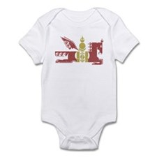 Mongol Horse Distressed Infant Bodysuit