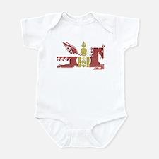 Mongol Horse Distressed Infant Bodysuit