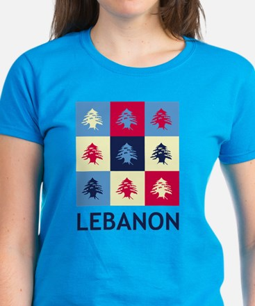 Pop Art Lebanon Tee