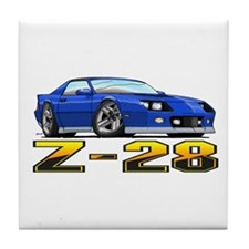 Camaro Z28 Tile Coaster