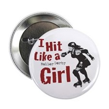 "Funny Rollerskates 2.25"" Button (10 pack)"