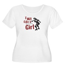 HitLikeaGirl Plus Size T-Shirt