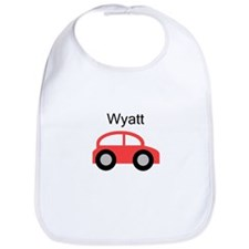 Wyatt - Red Car Bib