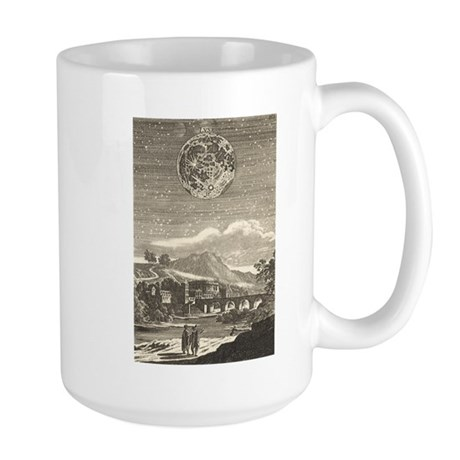 Vintage Astronomy, Lune Moon Large Mug