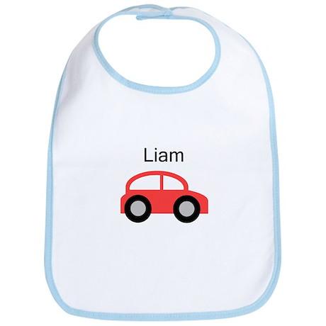 Liam - Red Car Bib