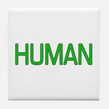 Human Tile Coaster