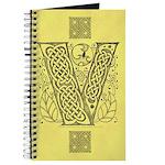 Celtic Letter V Journal