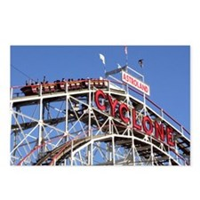 Coney Island Cyclone Postcards (Package of 8)
