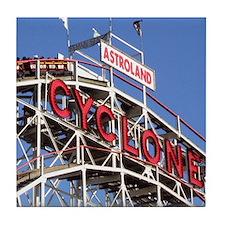 Coney Island Cyclone Tile Coaster
