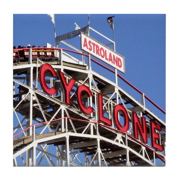 Coney Island Cyclone Height