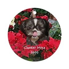 Clunker Mesa Christmas Ornament (Round)