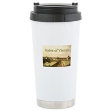 Unique Gates of vienna Travel Mug