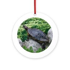 Tina Turtle Ornament (Round)