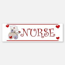 Nurse Bear Bumper Bumper Bumper Sticker