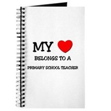My Heart Belongs To A PRIMARY SCHOOL TEACHER Journ