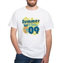 Summer of 09 White T-Shirt