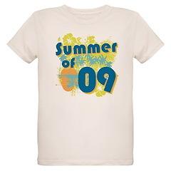 Summer of 09 Organic Kids T-Shirt