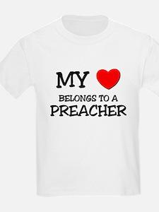My Heart Belongs To A PREACHER T-Shirt