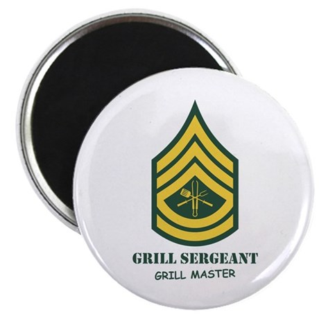 "Grill Sgt. 2.25"" Magnet (100 pack)"