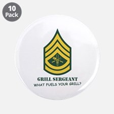 """Grill Sgt. 3.5"""" Button (10 pack)"""