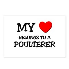 My Heart Belongs To A POULTERER Postcards (Package