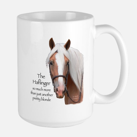 Haflinger More Than Large Mug