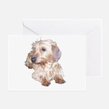 Fawn Wire Haired Greeting Card