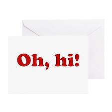 Oh, hi! Greeting Cards (Pk of 10)