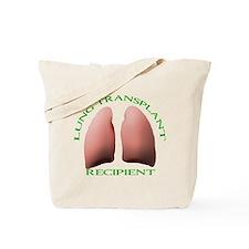 Lung Transplant Tote Bag