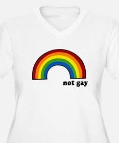 Not Gay Rainbow T-Shirt